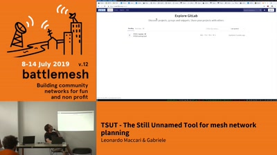 TSUT: The Still Unnamed Tool for mesh network planning