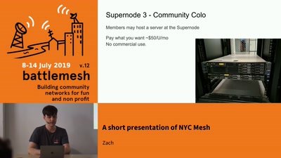 A short presentation of NYC Mesh