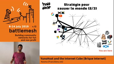 YunoHost and the Internet Cube \(Brique Internet\)