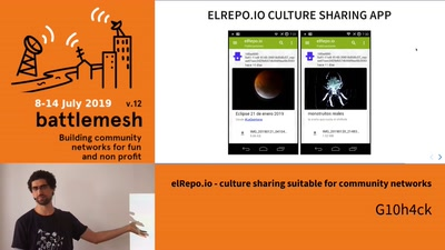 elRepo.io - culture sharing suitable for community networks