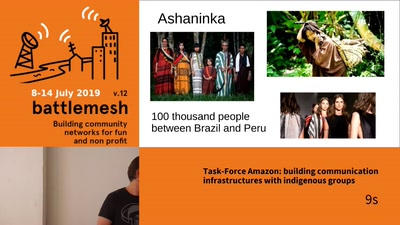 Task-Force Amazon: building communication infrastructures with indigenous groups