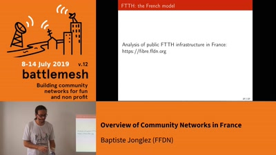 Overview of Community Networks in France